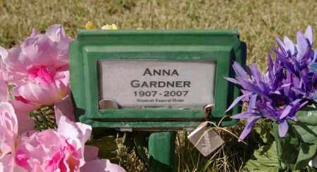 GARDNER, ANNA ALBERTA - Yavapai County, Arizona   ANNA ALBERTA GARDNER - Arizona Gravestone Photos