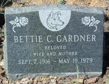 GARDNER, BETTIE  C. - Yavapai County, Arizona   BETTIE  C. GARDNER - Arizona Gravestone Photos