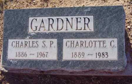 GARDNER, CHARLES STEWART - Yavapai County, Arizona   CHARLES STEWART GARDNER - Arizona Gravestone Photos