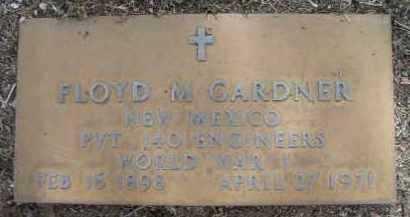 GARDNER, FLOYD MONROE - Yavapai County, Arizona | FLOYD MONROE GARDNER - Arizona Gravestone Photos