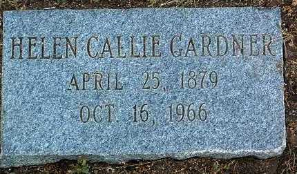 GARDNER, HELEN CALLIE - Yavapai County, Arizona | HELEN CALLIE GARDNER - Arizona Gravestone Photos