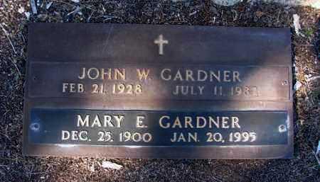 GARDNER, JOHN W. - Yavapai County, Arizona | JOHN W. GARDNER - Arizona Gravestone Photos