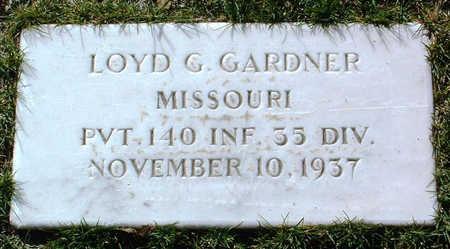 GARDNER, LOYD GEORGE - Yavapai County, Arizona | LOYD GEORGE GARDNER - Arizona Gravestone Photos