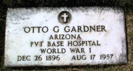 GARDNER, OTTO G. - Yavapai County, Arizona   OTTO G. GARDNER - Arizona Gravestone Photos