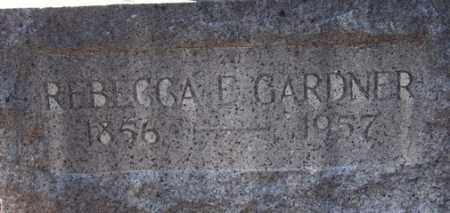 GARDNER, REBECCA JEAN E. - Yavapai County, Arizona | REBECCA JEAN E. GARDNER - Arizona Gravestone Photos