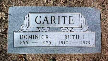 GARITE, DOMINICK - Yavapai County, Arizona | DOMINICK GARITE - Arizona Gravestone Photos