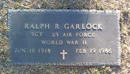 GARLOCK, RALPH ROBERT - Yavapai County, Arizona   RALPH ROBERT GARLOCK - Arizona Gravestone Photos