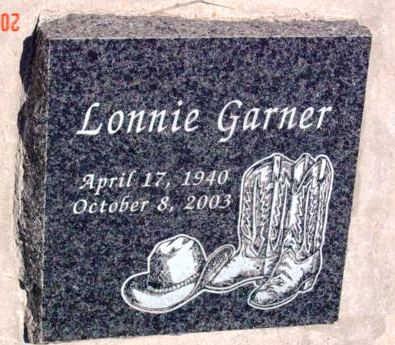 GARNER, LONNIE GARFIELD - Yavapai County, Arizona   LONNIE GARFIELD GARNER - Arizona Gravestone Photos