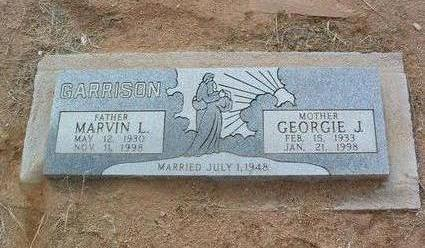 WEBB GARRISON, GEORGIE - Yavapai County, Arizona | GEORGIE WEBB GARRISON - Arizona Gravestone Photos