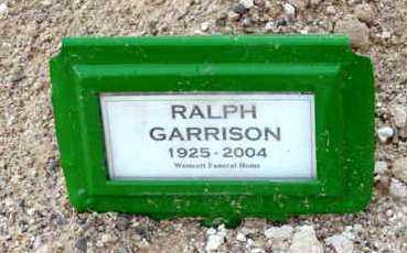 GARRISON, RALPH N. - Yavapai County, Arizona | RALPH N. GARRISON - Arizona Gravestone Photos