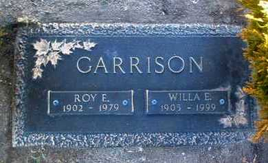 GARRISON, WILLA E. - Yavapai County, Arizona | WILLA E. GARRISON - Arizona Gravestone Photos