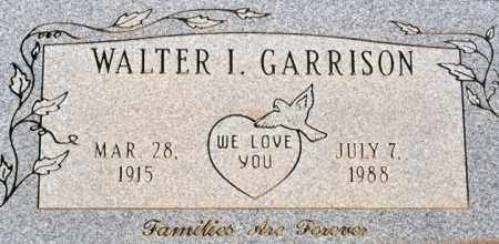 GARRISON, WALTER IVY - Yavapai County, Arizona | WALTER IVY GARRISON - Arizona Gravestone Photos