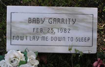 GARRITY, BABY - Yavapai County, Arizona | BABY GARRITY - Arizona Gravestone Photos