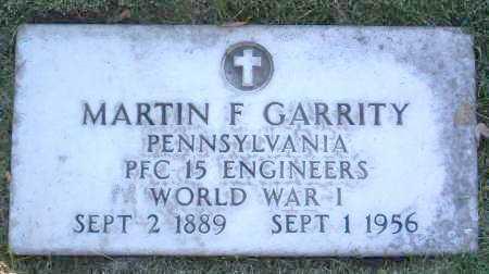 GARRITY, MARTIN FRANCIS - Yavapai County, Arizona   MARTIN FRANCIS GARRITY - Arizona Gravestone Photos