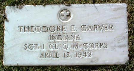 GARVER, THEODORE E. - Yavapai County, Arizona | THEODORE E. GARVER - Arizona Gravestone Photos