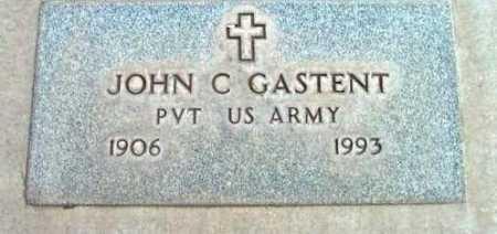 GASTENT, JOHN C. - Yavapai County, Arizona | JOHN C. GASTENT - Arizona Gravestone Photos