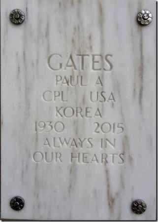 GATES, PAUL ALLEN - Yavapai County, Arizona | PAUL ALLEN GATES - Arizona Gravestone Photos