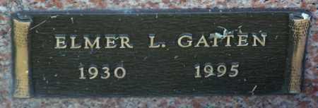 GATTEN, ELMER L. - Yavapai County, Arizona | ELMER L. GATTEN - Arizona Gravestone Photos