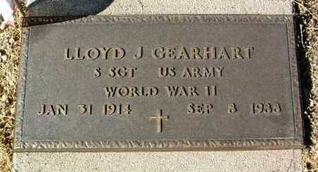 GEARHART, LLOYD JAMES - Yavapai County, Arizona   LLOYD JAMES GEARHART - Arizona Gravestone Photos