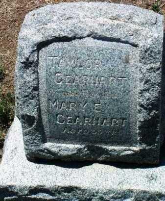 WOOD GEARHART, MARY E. - Yavapai County, Arizona | MARY E. WOOD GEARHART - Arizona Gravestone Photos