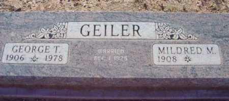 GEILER, GEORGE THOMAS - Yavapai County, Arizona | GEORGE THOMAS GEILER - Arizona Gravestone Photos