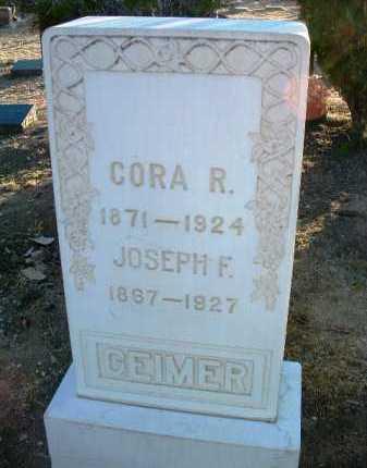 ROBINSON GEIMER, CORA - Yavapai County, Arizona | CORA ROBINSON GEIMER - Arizona Gravestone Photos