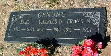 GENUNG, FRANK MARSH - Yavapai County, Arizona | FRANK MARSH GENUNG - Arizona Gravestone Photos