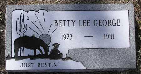 GEORGE, BETTY LEE - Yavapai County, Arizona | BETTY LEE GEORGE - Arizona Gravestone Photos