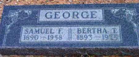 GEORGE, BERTHA T. - Yavapai County, Arizona | BERTHA T. GEORGE - Arizona Gravestone Photos