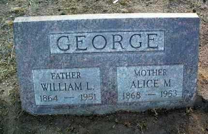 KELLOGG GEORGE, ALICE MAY - Yavapai County, Arizona | ALICE MAY KELLOGG GEORGE - Arizona Gravestone Photos