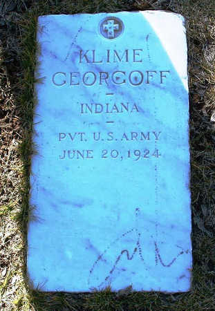 GEORGOFF, KLIME - Yavapai County, Arizona | KLIME GEORGOFF - Arizona Gravestone Photos