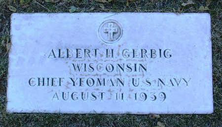 GERBIG, ALBERT  H. - Yavapai County, Arizona   ALBERT  H. GERBIG - Arizona Gravestone Photos