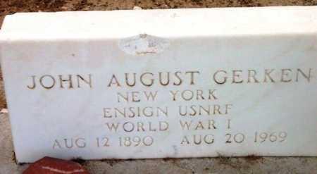 GERKEN, JOHN AUGUST - Yavapai County, Arizona | JOHN AUGUST GERKEN - Arizona Gravestone Photos