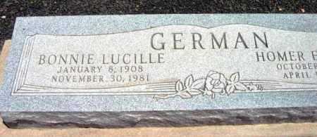 BUTLER GERMAN, BONNIE LUCILLE - Yavapai County, Arizona | BONNIE LUCILLE BUTLER GERMAN - Arizona Gravestone Photos