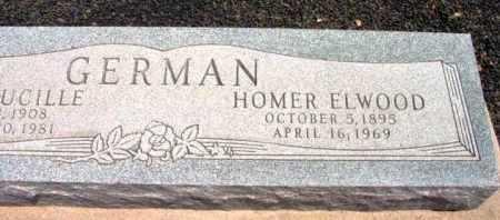 GERMAN, HOMER ELWOOD - Yavapai County, Arizona | HOMER ELWOOD GERMAN - Arizona Gravestone Photos