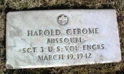 GEROME, HAROLD - Yavapai County, Arizona | HAROLD GEROME - Arizona Gravestone Photos