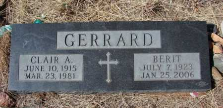 GERRARD, BERIT - Yavapai County, Arizona | BERIT GERRARD - Arizona Gravestone Photos