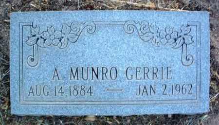GERRIE, ALEXANDER MUNRO - Yavapai County, Arizona | ALEXANDER MUNRO GERRIE - Arizona Gravestone Photos