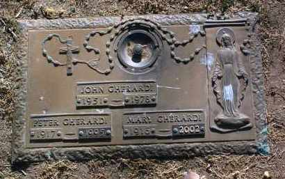 GHERARDI, MARY - Yavapai County, Arizona | MARY GHERARDI - Arizona Gravestone Photos
