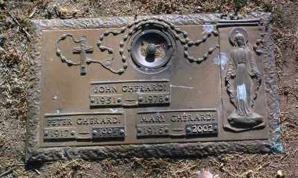 GHERARDI, PETER M. - Yavapai County, Arizona | PETER M. GHERARDI - Arizona Gravestone Photos