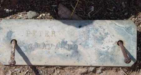 GIAVANDO, PETER - Yavapai County, Arizona | PETER GIAVANDO - Arizona Gravestone Photos