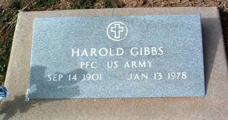 GIBBS, HAROLD - Yavapai County, Arizona | HAROLD GIBBS - Arizona Gravestone Photos