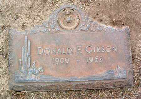 GIBSON, DONALD FRANK - Yavapai County, Arizona | DONALD FRANK GIBSON - Arizona Gravestone Photos