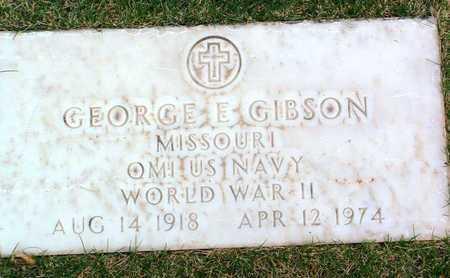 GIBSON, GEORGE EDWARD - Yavapai County, Arizona | GEORGE EDWARD GIBSON - Arizona Gravestone Photos