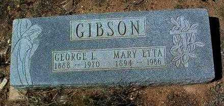 GIBSON, GEORGE LUNDEFORD - Yavapai County, Arizona | GEORGE LUNDEFORD GIBSON - Arizona Gravestone Photos
