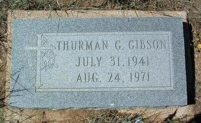 GIBSON, THURMAN GEORGE - Yavapai County, Arizona   THURMAN GEORGE GIBSON - Arizona Gravestone Photos