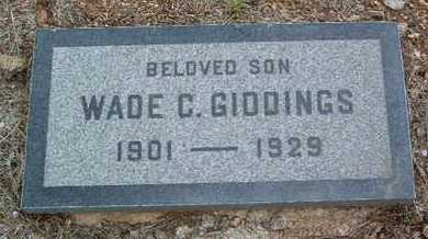 GIDDINGS, WADE CHICHESTER - Yavapai County, Arizona | WADE CHICHESTER GIDDINGS - Arizona Gravestone Photos