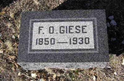 GIESE, FREDERICK OTLE - Yavapai County, Arizona   FREDERICK OTLE GIESE - Arizona Gravestone Photos