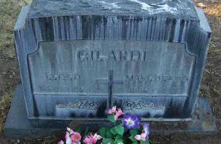 GILARDI, ELISEO - Yavapai County, Arizona   ELISEO GILARDI - Arizona Gravestone Photos