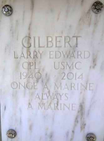 GILBERT, LARRY EDWARD - Yavapai County, Arizona | LARRY EDWARD GILBERT - Arizona Gravestone Photos